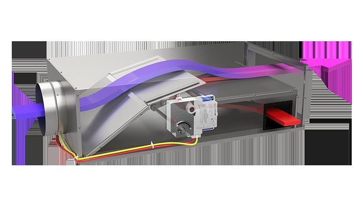 Barcol Air Induction VAV Boxes